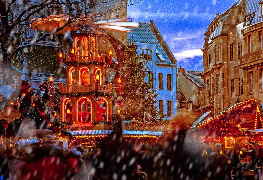 MS Amelia, Weihnachtsmarkt Bonn