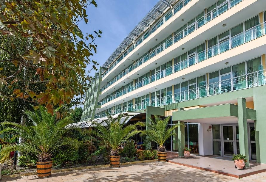 Hotel Ivana Palaca Sonnenstrand, Außenansicht