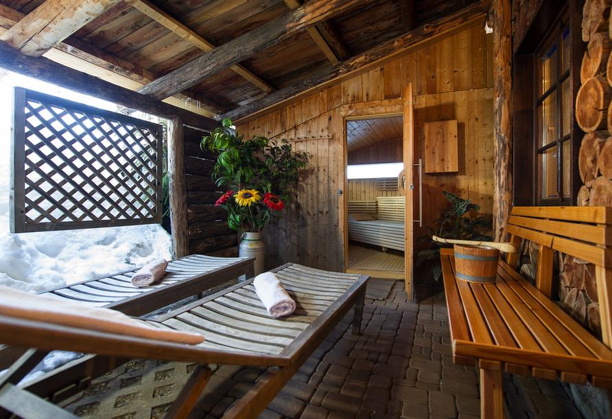 Sattleggers Alpenhof Sauna
