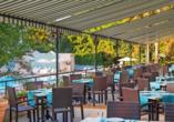 Hotel MiRaBelle Goldstrand, Terrasse