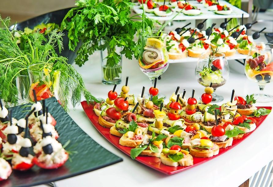 Hotel MiRaBelle Goldstrand, Buffet