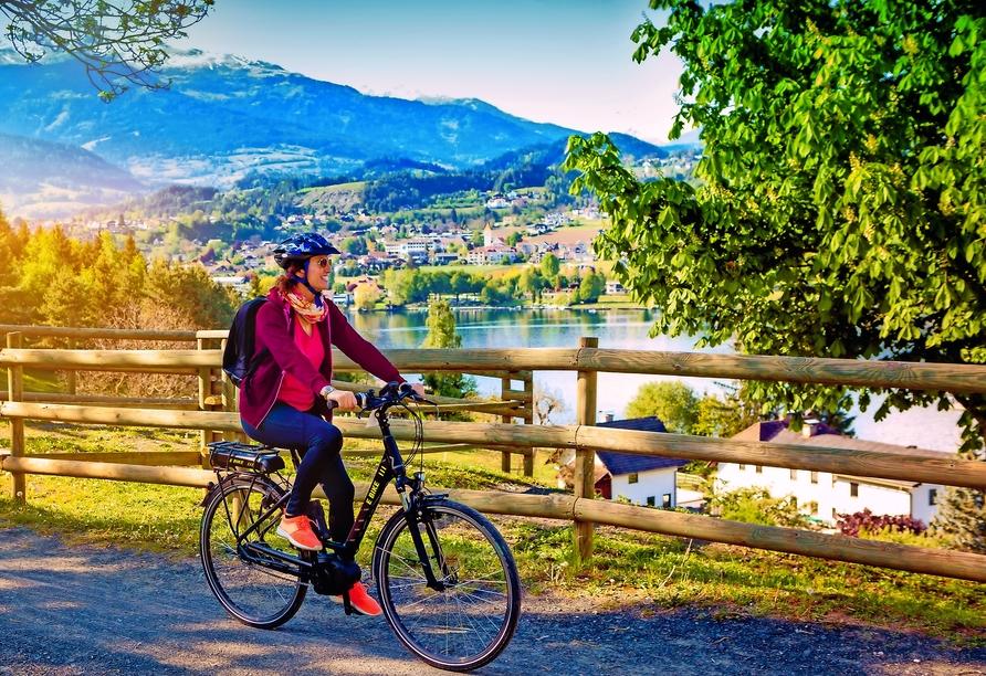 Hotel Parks, Velden Österreich, Fahrrad