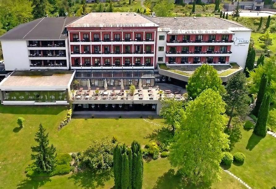 Hotel Parks, Velden Österreich, Außenansicht