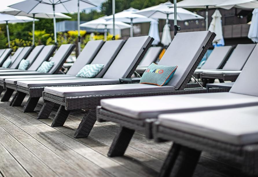 Hotel Parks, Velden Österreich, Hotelterrasse