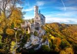 Das Schloss Lichtenstein wird nicht umsonst als