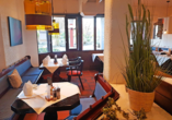 Das gemütliche Restaurant des Biosphärenhotels Graf Eberhard