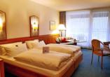 Besipiel eines Doppelzimmers Komfort