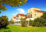 Das Dorint Marc Aurel Resort Bad Gögging freut sich auf Ihren Besuch.