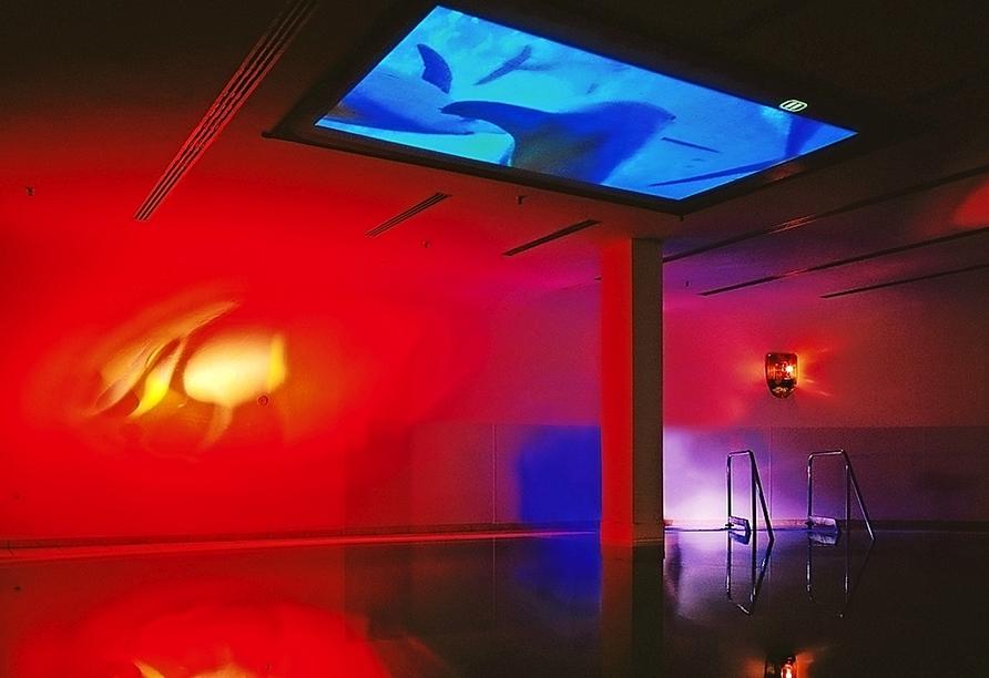 Erleben Sie die einzigartige Atmosphäre im Liquid Sound Pool.
