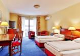 Beispiel eines Doppelzimmers Komfort im Dorint Marc Aurel Resort Bad Gögging