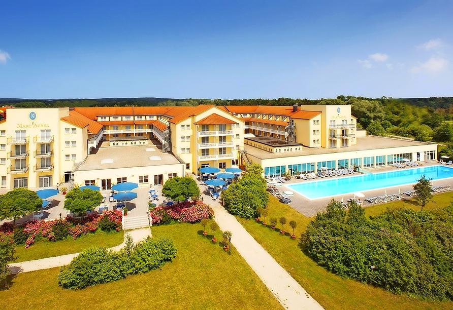 Herzlich willkommen im Dorint Marc Aurel Resort Bad Gögging!