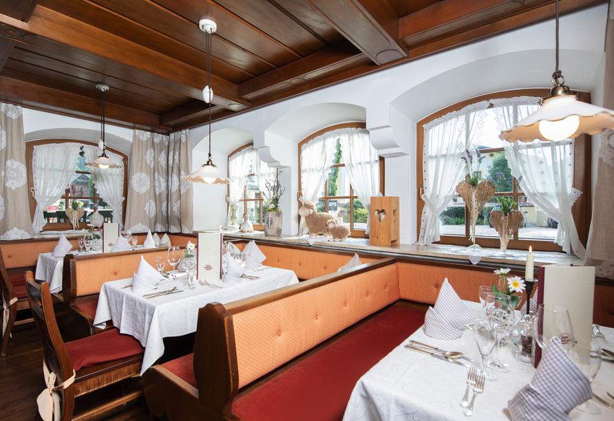 Hotel Der Kirchenwirt, Reith, Österreich, Restaurant