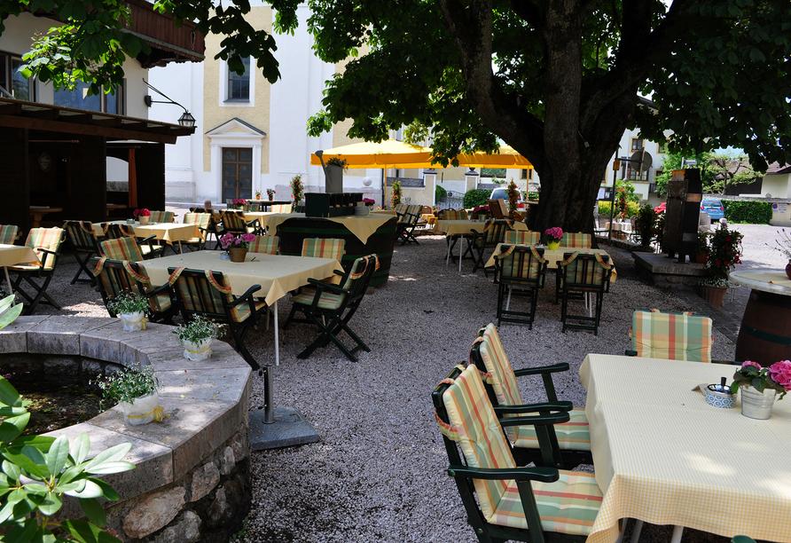Hotel Der Kirchenwirt, Reith, Österreich, Innenhof