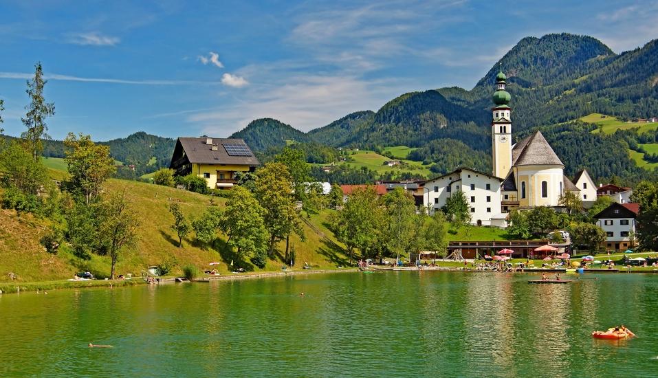Hotel Der Kirchenwirt, Reith, Österreich, Reither See