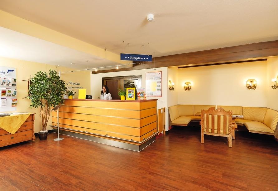Morada Hotel Bad Wörishofen, Rezeption