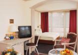 Beispiel eines Doppelzimmers im Hotel-Gasthof Resengörg