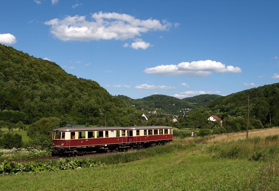 Nebenbahnidylle in der Fränkischen Schweiz