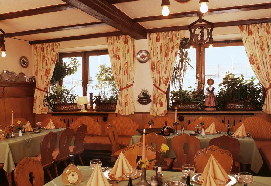 Restaurant im Hotel-Gasthof Resengörg