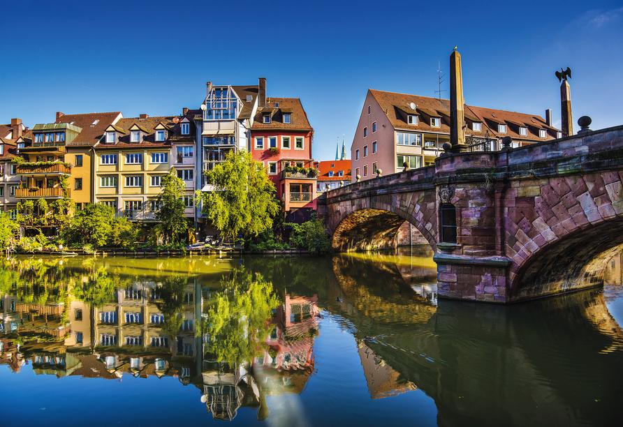 Besuchen Sie unbedingt die schöne Frankenmetropole Nürnberg.