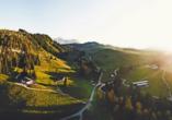 Genießen Sie die Almenwelt im Salzburger Land.