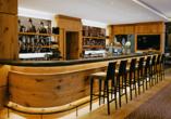 An der hoteleigenen Bar können Sie den Abend bei leckeren Getränken ausklingen lassen.