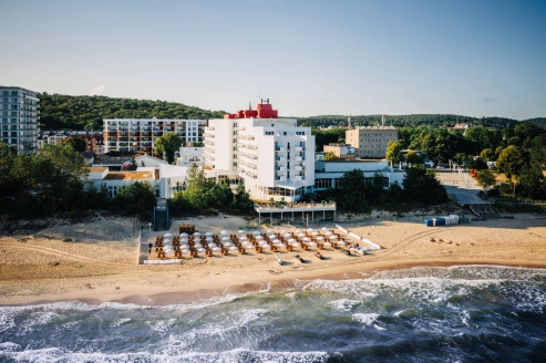 Hotel Amber Baltic in Misdroy, Außenansicht