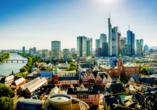 Auch ein Ausflug nach Frankfurt am Main lohnt sich.