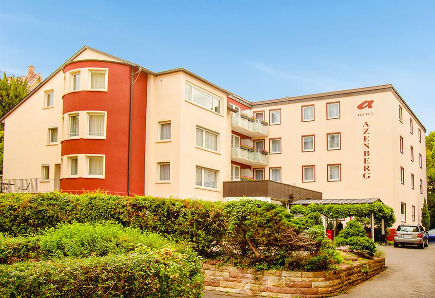Außenansicht Ihres Hotels Azenberg in Stuttgart
