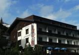 Hotel Alpenhof in St. Anton am Arlberg, Österreich, Außenansicht