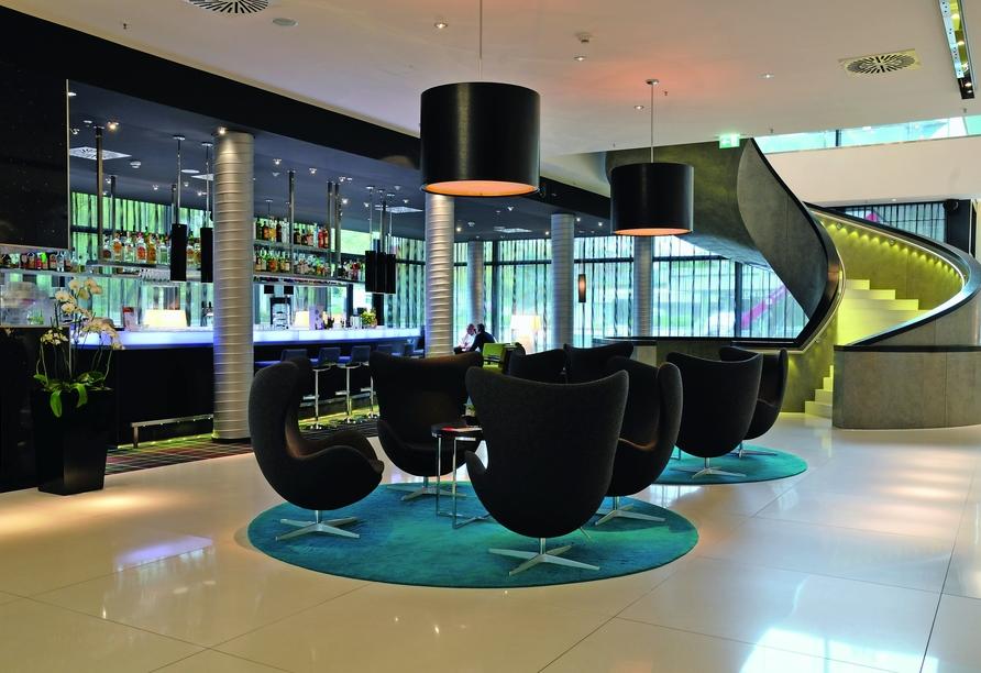 Radisson Blu Hotel Hamburg, Lobby