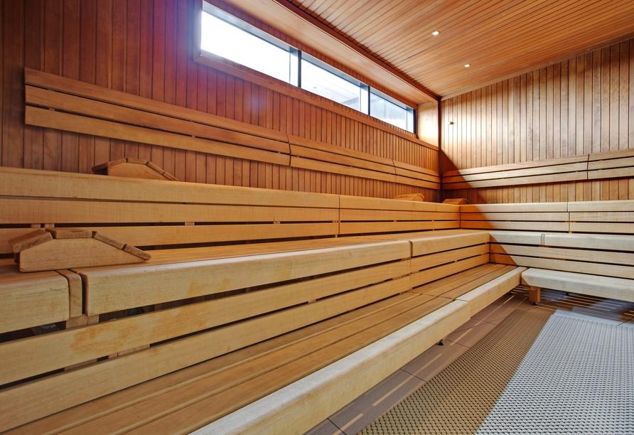 Radisson Blu Hotel Hamburg, Sauna