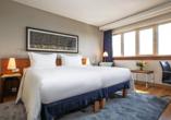 Radisson Blu Hotel Hamburg, Beispiel Doppelzimmer Superior