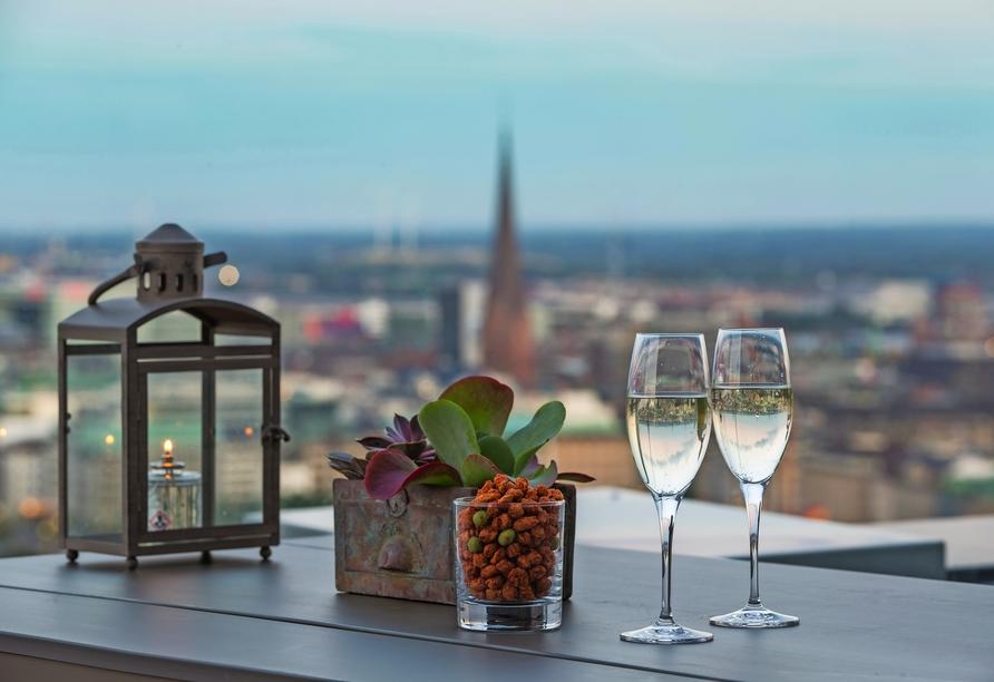 Radisson Blu Hotel Hamburg, Wein