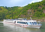 MS Carissima ab/an Passau, Aßenansicht Schiff