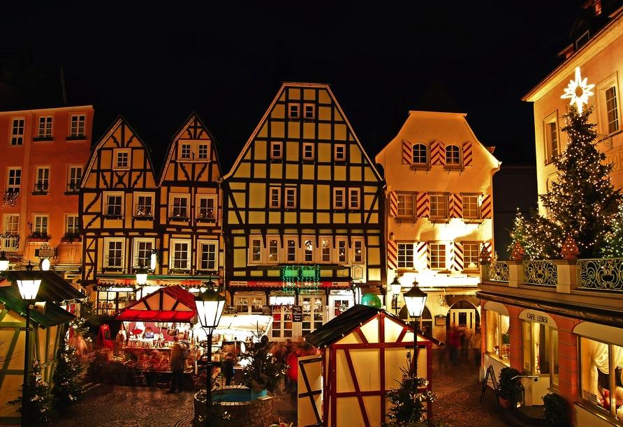 MS Maxima, Weihnachtsmarkt Linz