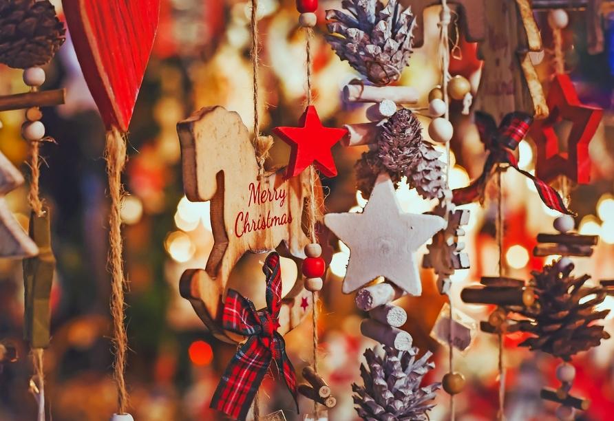 MS Maxima, weihnachtliches Motiv