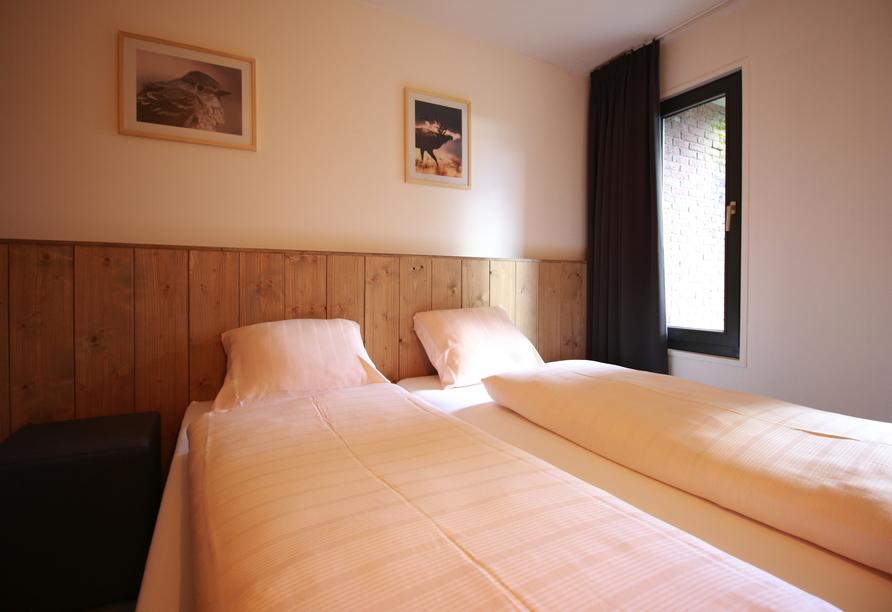 Ferienpark Hambachtal in Oberhambach, Appartement-Schlafzimmer