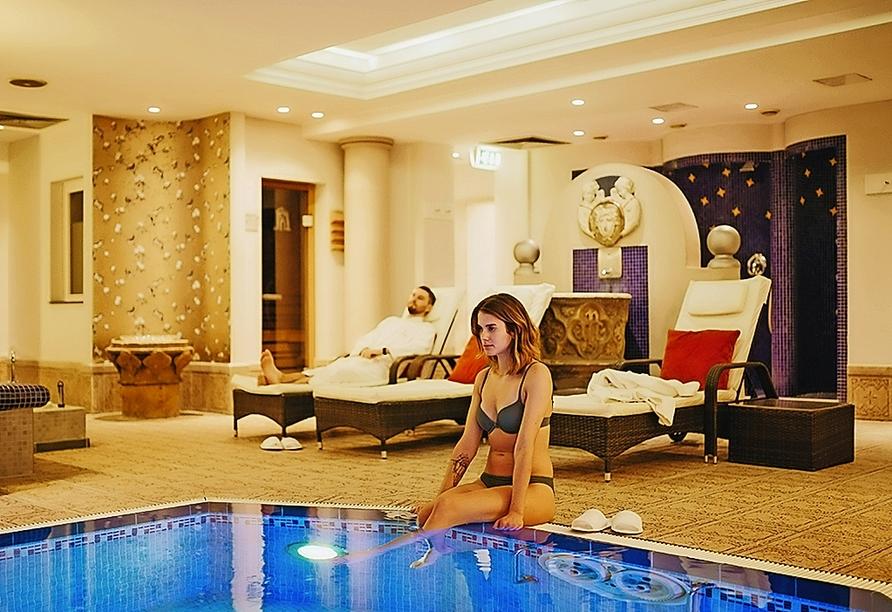 Hallenbad in der Hotel-Residence Klosterpforte!