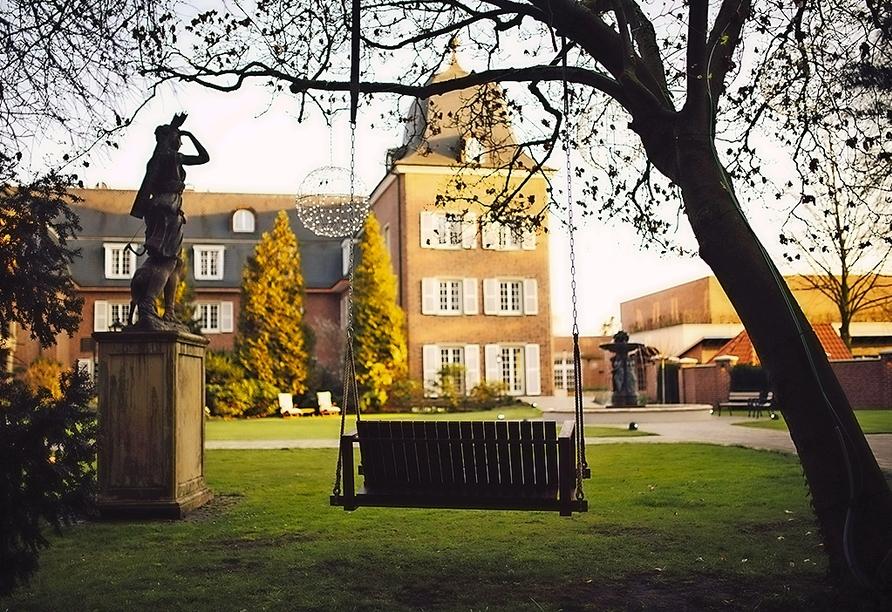 Die Hotel-Residence Klosterpforte bietet eine romantische Atmosphäre.