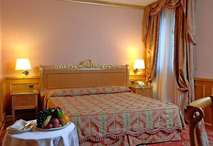 Mietwagenrundreise Norditalien, Beispiel Doppelzimmer Hotel Andreola