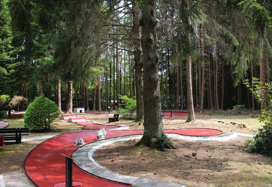 Ferienpark Hambachtal in Oberhambach, Minigolf
