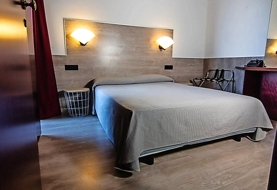 Mietwagenrundreise Norditalien, Beispiel Doppelzimmer Hotel Concorde Lago Maggiore