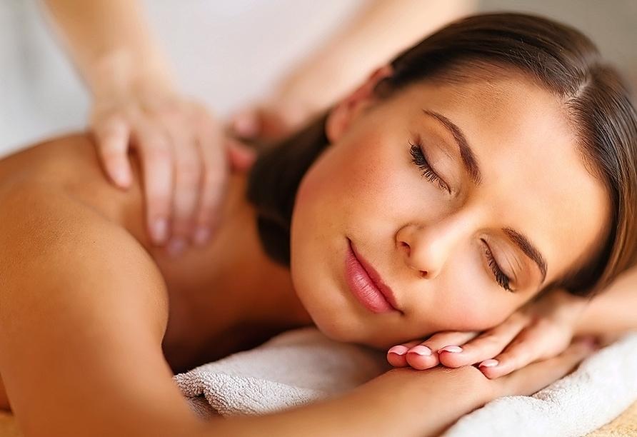 A-ROSA, Massage