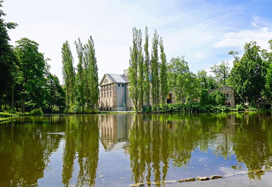 Der Englische Garten in Meinigen ist ein echtes Juwel.