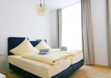 Beispiel eines Doppelzimmers im Hotel Jann von Norderney