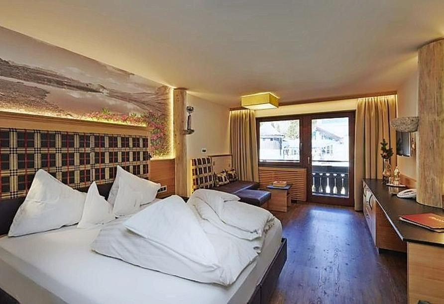 Hotel Resort Alpenrose, Zimmerbeispiel