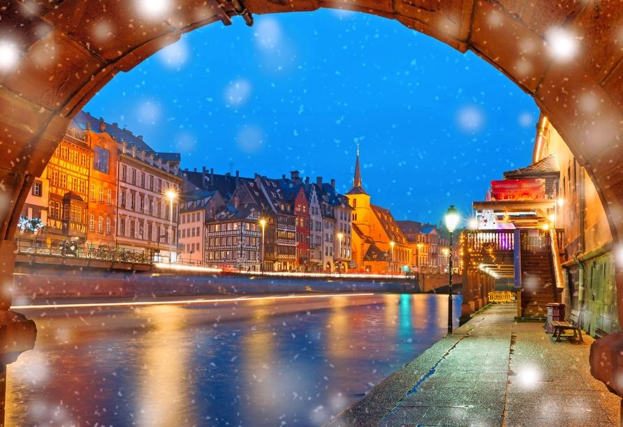 MS Antonia, Weihnachtsmarkt Straßburg