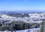 Winterliches Allgäu nahe Kempten