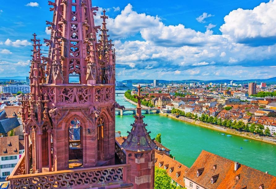 A-ROSA, Schweiz, Basel