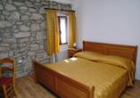 Villa Calussovo in Labin, Kroatien, Zimmerbeispiel